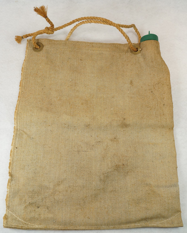 RD14937 Vintage Hirsch Weis Canvas Self Cooling Water Bag No. 1502 Portland, Oregon DSC06769