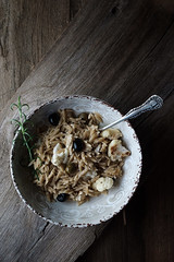 Roasted Cauliflower and Garlic Pasta