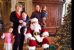 The REAL Santa says, 'Ho! Ho! Ho!'  -- Granddaughter Caroline