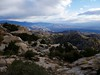 Mount Lemmon down to Tucson
