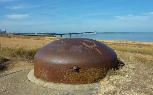 Pont de l' Ile de Ré et vestiges seconde guerre mondiale