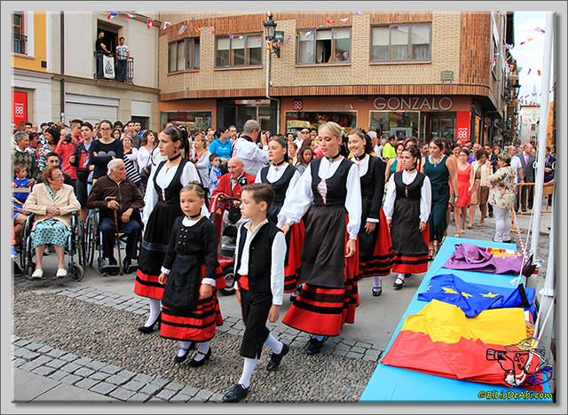Briviesca en Fiestas 2.015 Proclamación de las Reinas y lectura del Pregón (2)