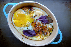 Baked Eggs at home