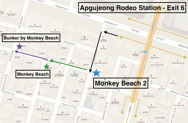 Monkey Beach Map