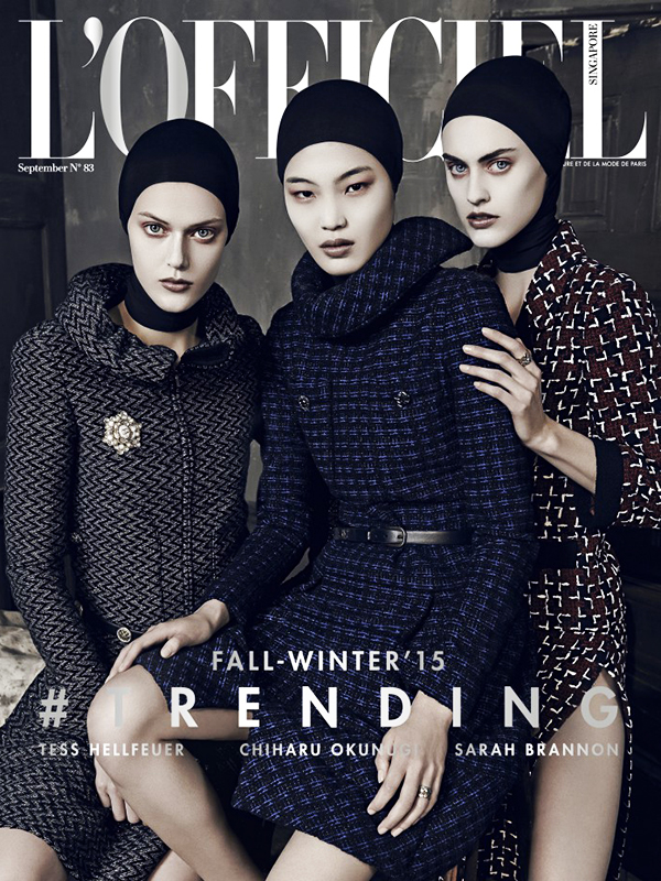 L'OFFICIEL SINGAPORE SEPTEMBER 2015 COVER