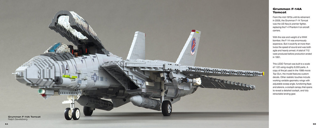 The art of LEGO scale modeling -my F-14A Tomcat