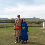 Vestidos de mongoles