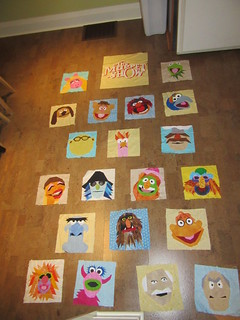 Muppet Quilt, possible layout