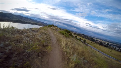 Riding the Foothills Trail