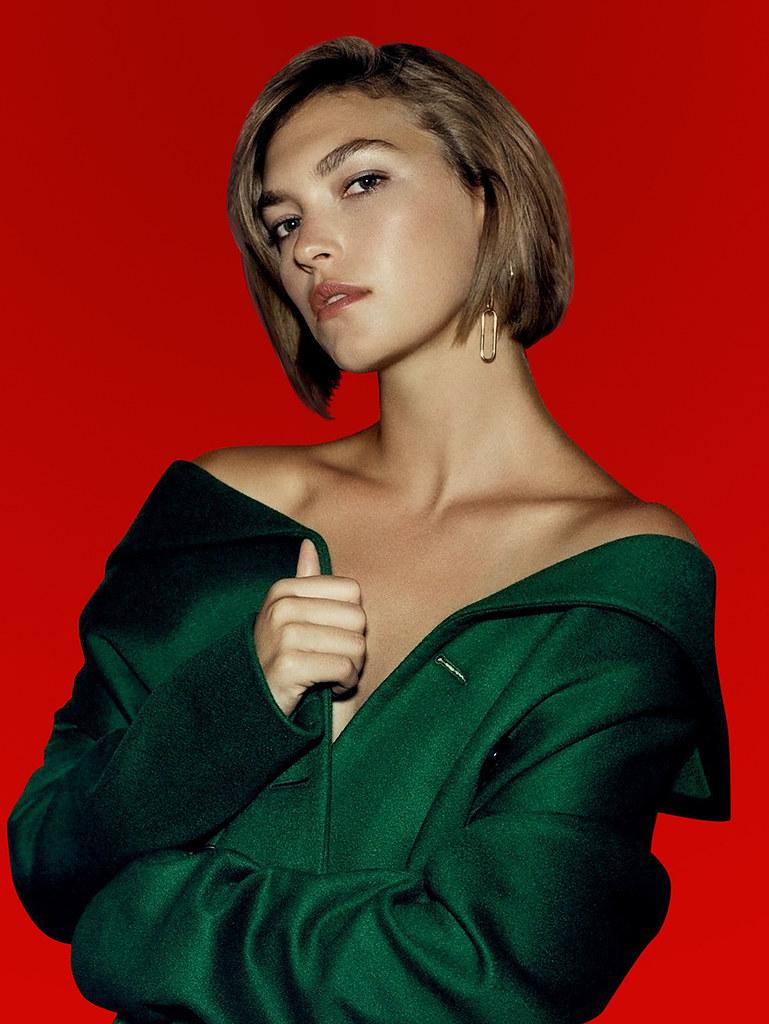 Аризона Мьюз — Фотосессия для «Harper's Bazaar» RU 2015 – 12