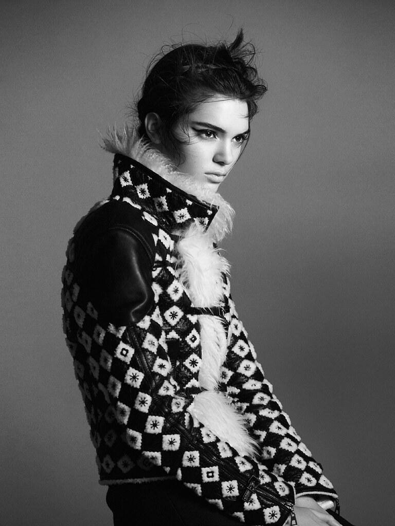 Кендалл Дженнер — Фотосессия для «Vogue» FR 2015 – 11