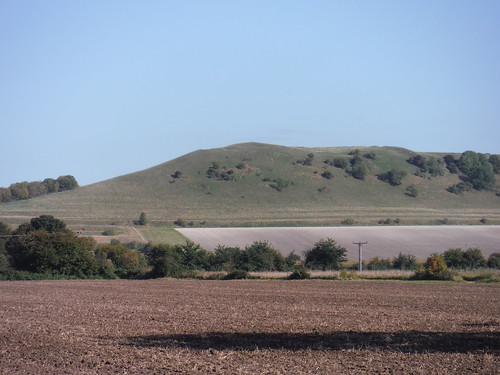 Oare Hill with Giant's Grave