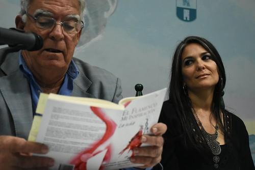Presentación literaria en la Peña Juan Talega