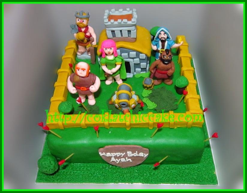 Cake Clash of Clan