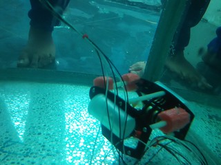 Workshop ROV underwater