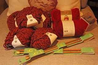 latest yarn order arrived