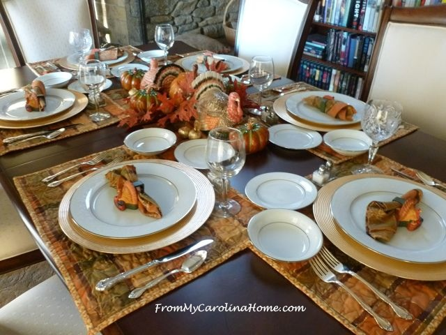 Thanksgiving Tablescape 2015 1