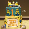 Another minion cake ... I was waiting to do one n there in 2 months this is our 3rd #minion #cake #crazyminion #minionlove #minioncake #minionmadness #minionbdaycake #lovethelittleminions #minions #bdaycakesforkids #kidsbdaycakes #floured #flouredbangalor