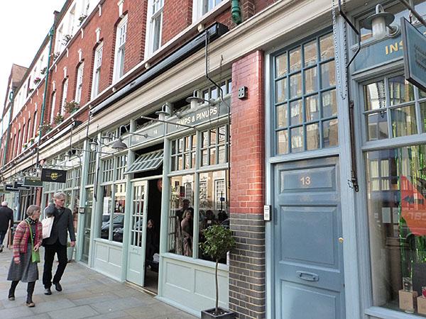 boutiques Spitalfields Market