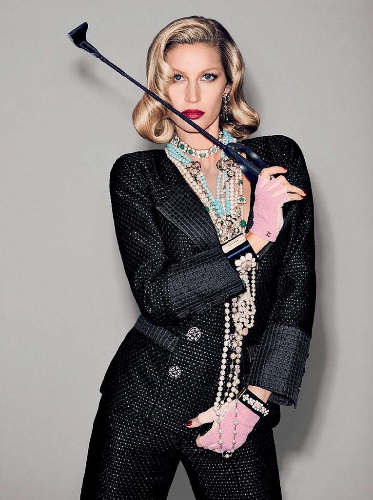 Жизель Бюндхен — Фотосессия для «Vogue» BR 2015 – 4