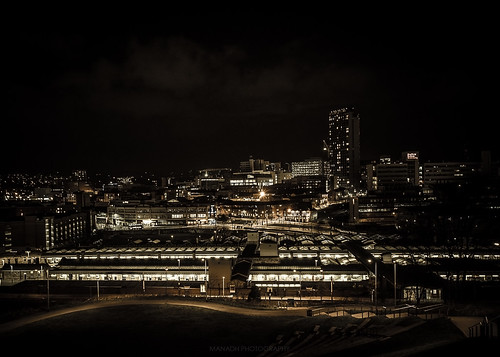 Sheffield at night // 05 12 15
