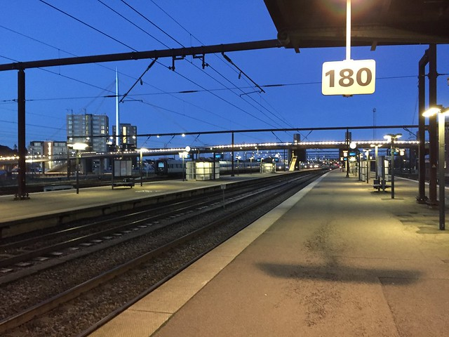 Odense Station, Early morning