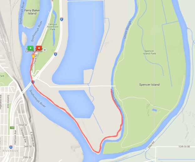 Today's awesome walk, 3.56 miles in one hour, 7,647 steps