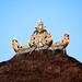 Bali 2015, Pura Puseh Temple Batuan, temple roof topper WM