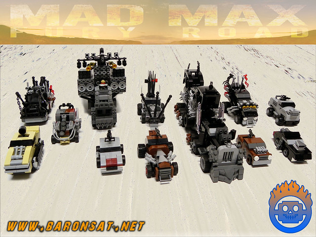 Mad Max Fury Road Micro vehicles