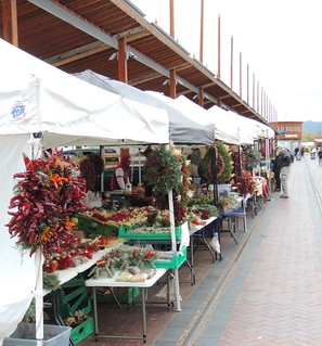 Santa Fe Farmers Market in December