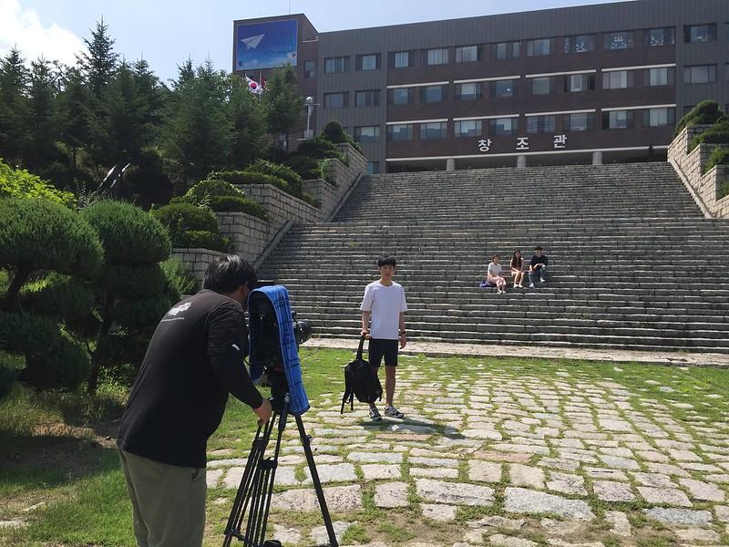 영동대학교 촬영