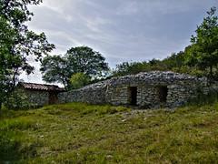 Le Mas d'Azil.Les cabanes de Souribet.