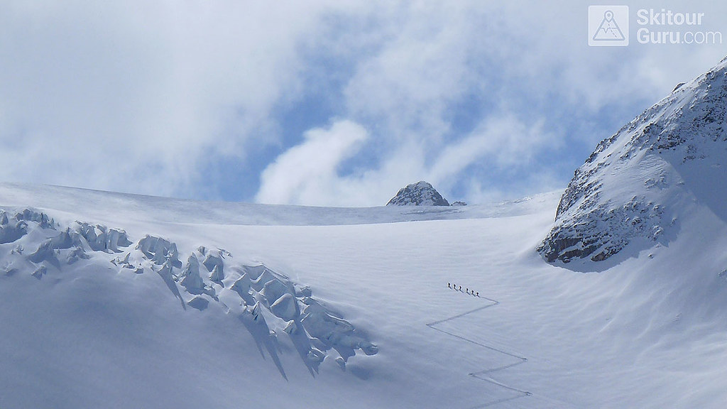 Haute Route Swiss Glacier, Sustenhorn, Urner Alpen:http://skitourguru.com/oblast/23-urner-alpen, Switzerland.