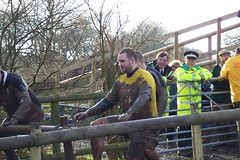 Simon approaching the Finish Image