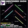 [ free bird ] KnightSaber Gacha Key