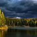 Lion Lake Foliage (Explored) by steve rubin-writer