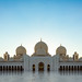 Sheikh Zayed Grand Mosque before sunset by JohnNguyen0297