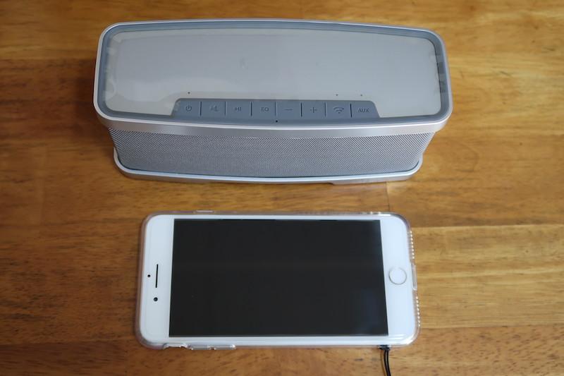 iPhone 7 Plusとの大きさの比較