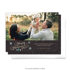 It's all about Christmas from now on! So I'll be busy getting my shop ready for the holidays :evergreen_tree: This beautiful photo is by @tracy_lee_photography #christmas #photography #photocard #christmascards #holidays #etsy #etsyshop #ecards