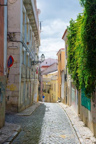Lisbon streets photo