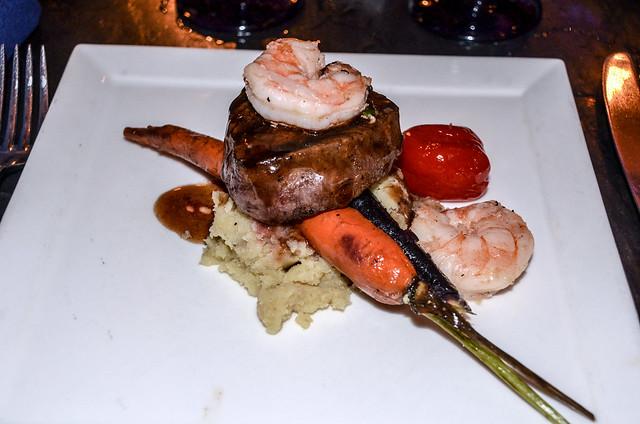 CRT steak and shrimp