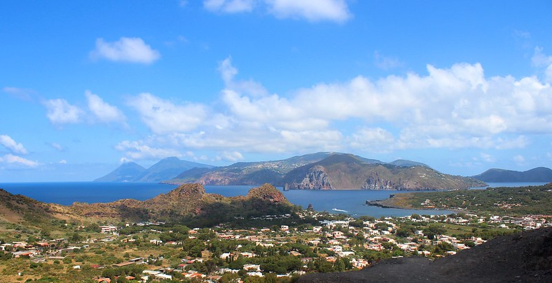 View of Lipari