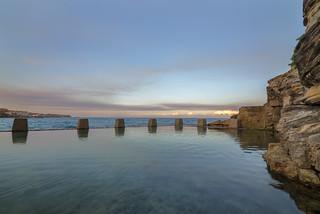 Зображення Coogee Beach. sunset beach water pool rock stone swimming swim nikon afternoon sydney australia tokina nsw pillars f28 coogee d800 1628mm