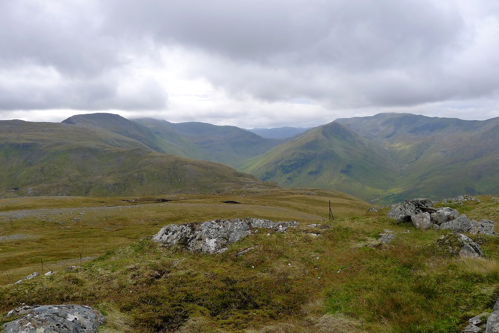 Clag over the Cluanie Horseshoe