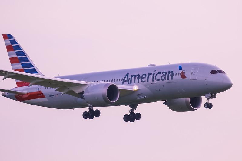 N803AL Boeing 787-8 Dreamliner American Airlines