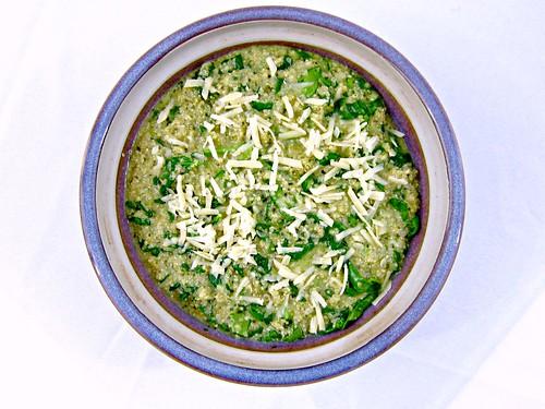 Spinach Pesto Quinoa