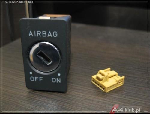 70944 - Instalacja przełącznika deaktywacji poduszki pasażera AIR BAG OFF - 5