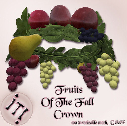 !IT! - Fruits Of The Fall Crown Image