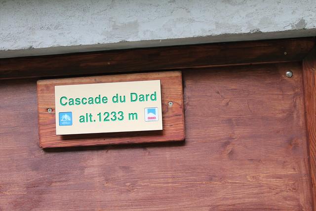 cascade du dard 1233m