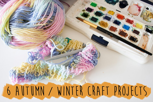 6 autumn and winter craft projects